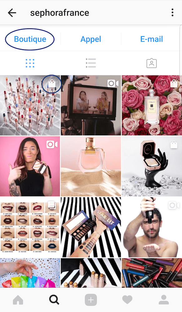 Comment fonctionne Instagram Shopping France